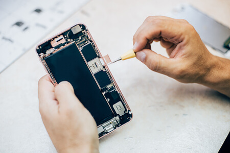 Service Centers glass replacement phone