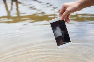 signs of water damage on your phone